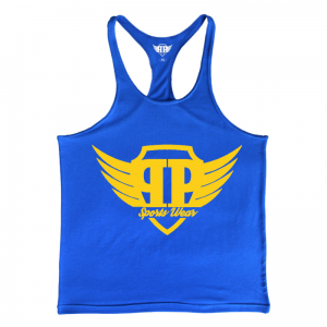 Tank Top - Blue Gold