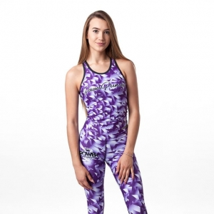 "Tank Top Damski ""Purple Star"""