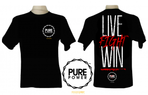 "T-shirt Męski ""Pure Power"""