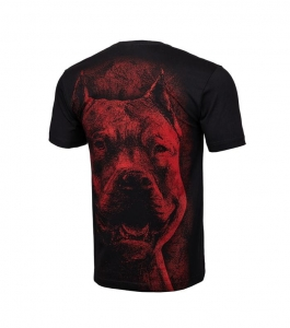 T-shirt Pit Bull Red Nose