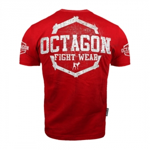 T-shirt Octagon Fight Wear Red