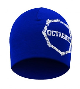 Czapka zimowa Octagon Large Logo Smash Blue
