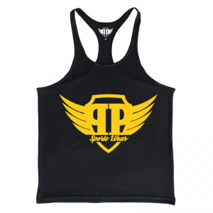 Tank Top Męski - Black Gold