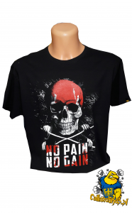 "T-shirt Męski ""No Pain No Gain"""