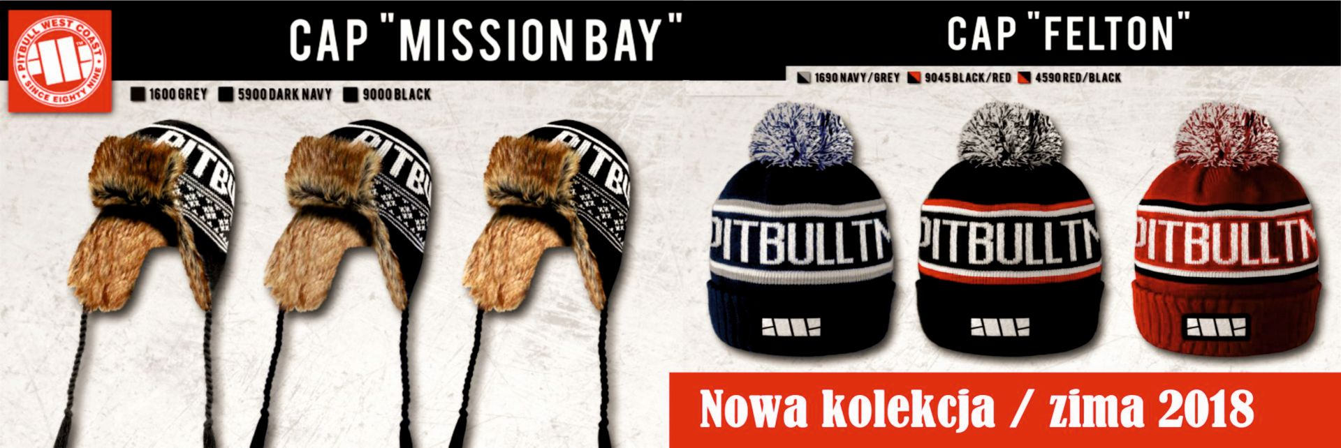 PitBull Cap Mission Bay - Dark Navy