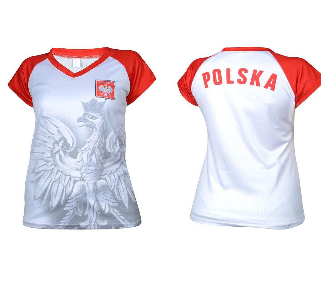 489bcf722 Koszulka Kibica Reprezentacji - Orzeł - Damska - Reprezentacja ...